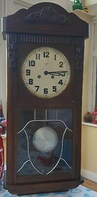 Beautiful Rare Antique German Friedrich Mauthe wall clock at 1880 with 2melodies
