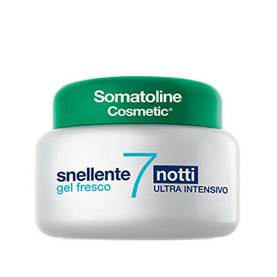 Snellente 7 NOTTI Ultra Intensivo Gel Fresco Drenante Donna Slimming Fresh 250ml