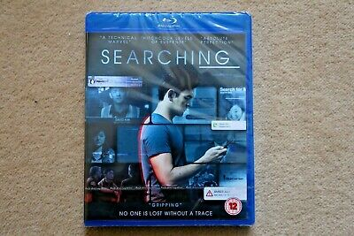 Blu-Ray  Searching        Brand New Sealed Uk Stock