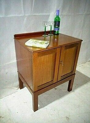 Antique Victorian Mahogany Pot Cupbaord Vintage Bedside Cabinet Night Stand