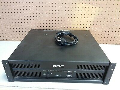 QSC ISA 750 Professional Power Amplifier 750W