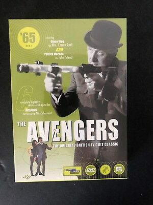 Avengers The '65 Collection: Set 1 (DVD, 1999, 2-Disc Set) Brand New sealed