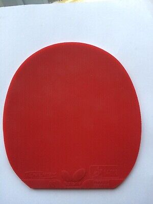 Butterfly Tenergy 80 Table Tennis Rubber (Red, 2.1)
