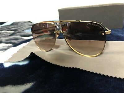 4dd40f0e6b32 DITA BLUEBIRD TWO Brown Swirl Gold   Brown Gradient Sunglasses DRX ...