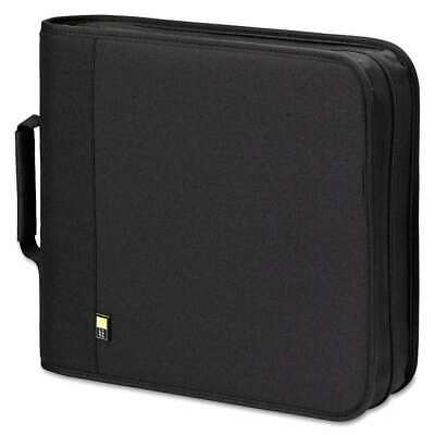 Case Logic® CD/DVD Expandable Binder, Holds 208 Discs, Black 085854106955