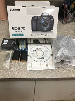 Canon EOS 7D Mark II Body Only Barely Used