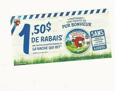 Coupons - 11 La Vache Qui Rit / Laughing Cow Cheese