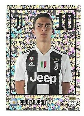 Juventus Fc 2018 19 Europublishing - N.30 Paulo Dybala Sticker New