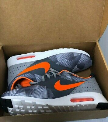 quality design efcdf 7cda4 Nike Air Max TAVAS PRINT Grey Total Orange US 11 Trainers Running