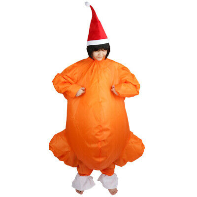 Christmas Fancy Dress Funny.Adult Thanksgiving Turkey Inflatable Fancy Dress Costume
