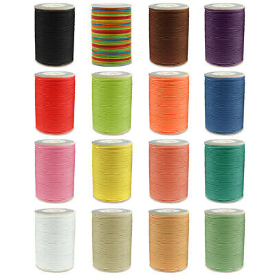90m Waxed Cord 0.8mm String Thread Jewellery Bracelet Necklace Craft Useful New