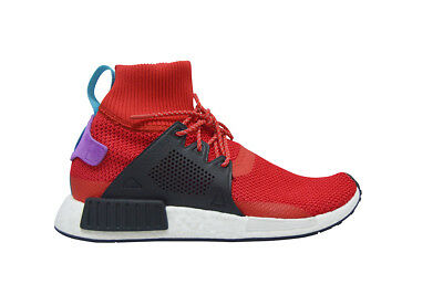 a7a734c1f Mens Adidas NMD XR1 Winter - BZ0632 - Red Black Blue Purple Trainers