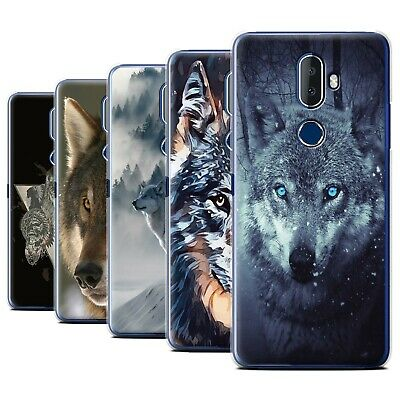 STUFF4 Gel/TPU Phone Case for Alcatel 3V 2018 /Wild Animal Predator Wolf