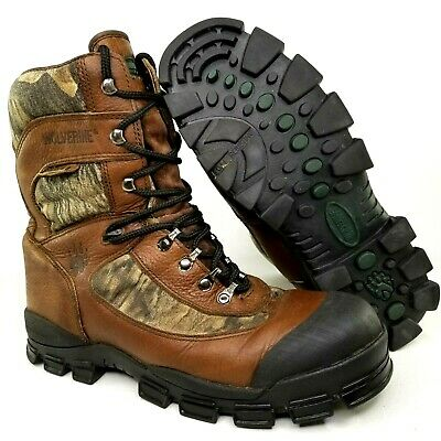 9e6b806f11b WOLVERINE GORE TEX Hiking Hunting Boots Size 12 Mens GTX Outdoor Brown Camo