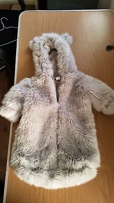 61bf43c4b RESTORATION HARDWARE 12 Month Faux Fur Baby Girl Coat And Boots ...
