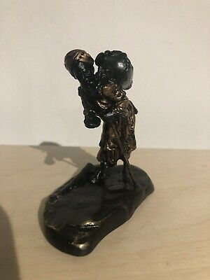 Stamped Vienna Cold Painted Bronze Figure