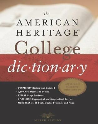 The American Heritage® College Dictionary, Fourth Edition, ,0618098488, Book, Ac