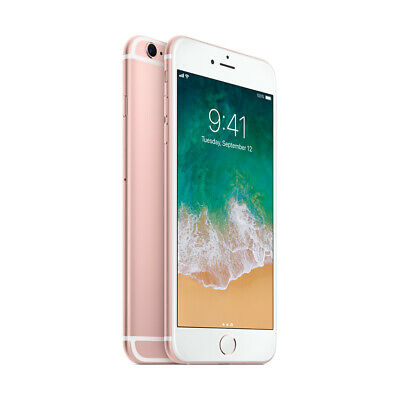 Apple iPhone 6s 64GB Factory Unlocked - Rose Gold Smartphone A1688 WiFi 64 iOS