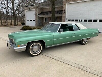 1972 Cadillac DeVille  1972 Cadillac Coupe DeVille 8100 miles! All Original, Absolute Time Capsule