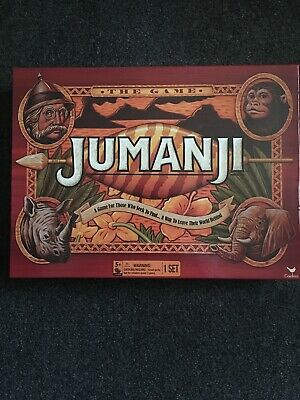 Original Jumanji Action Board Game w/Accessories Family Children Gift Games Toys