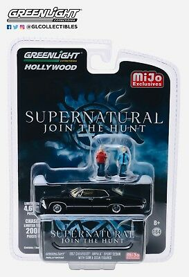 Greenlight Chevrolet Impala 1967 with Figures Supernatural 51206 1/64