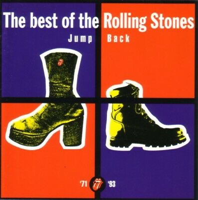 'Jump Back' (best of the Rolling Stones 1971-1993) CD in immaculate condition