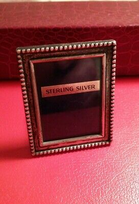 Solid Silver photo frame