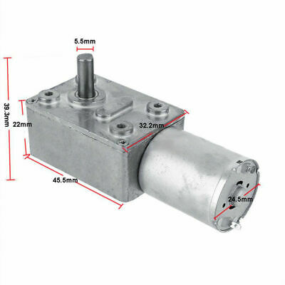 EG_ alloy DC Shaft High Torque Turbine Worm Gear Box Reduction Motor Engine Repl