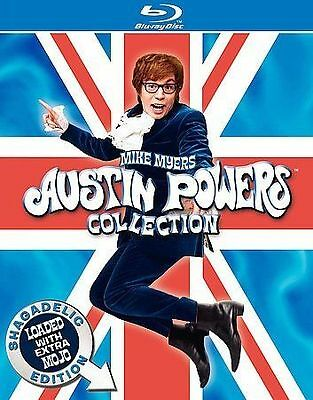 Austin Powers DVD Collection New Blu-ray Boxed Set, Special Edition, Subtitled