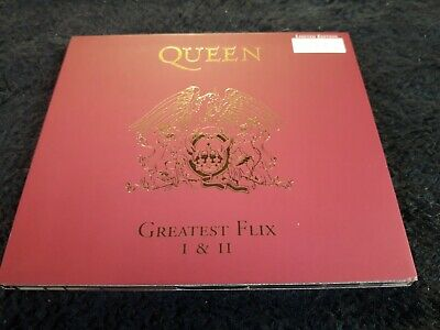QUEEN Greatest Flix I & II DVD Promo Limited Numbered 1997 QDVD001 - Video Hits
