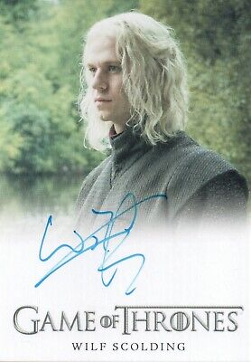 Game of Thrones Season 7, Wilf Scolding 'Rhaegar Targaryen' Autograph Card