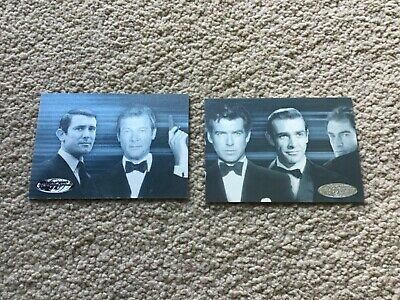 James Bond 007 40th Anniversary Expansion Cards - Bonus Card Checklists 2 & 3