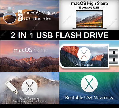 APPLE MAC OS X El Capitan USB Bootable Drive & Recovery Creation