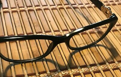 f1f84162b6 New Bvlgari BV4131-B 501 RX Prescription Eyeglasses Frames 54mm Black Italy