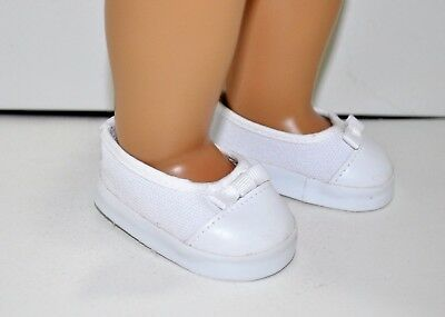 American Girl Doll Our Generation Journey 18 Inch Dolls Clothes White Shoes