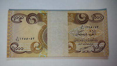 30,000 NEW IRAQI DINAR UNCIRCULATED CURRENCY 30 x 1000  1,000 IQD