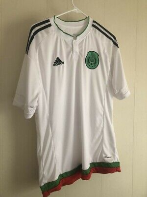 c44b504a1 Mexico International Adidas Futbol Soccer Jersey Brian on back size Large