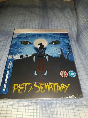 Pet Sematary 30th Anniversary Limited Edition 4K Steelbook NEW & SEALED IN HAND!