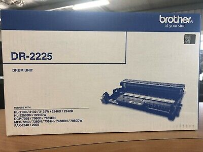 Brother DR-2225 Genuine Printing Drum - 12,000 Pages