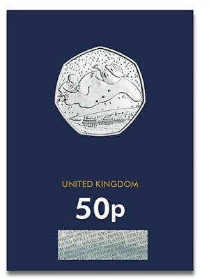 2018 50p FIFTY PENCE COIN THE SNOWMAN BRILLIANT UNCIRCULATED