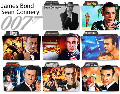 Sean Connery Magnet James Bond 007 Dr. No Goldfinger Thunderball Movies From Rus