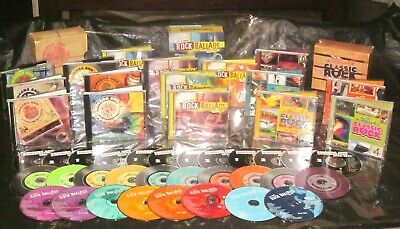 TIME LIFE 30 CD Boxed Sets CLASSIC ROCK Ultimate Ballads SINGERS & SONGWRITERS