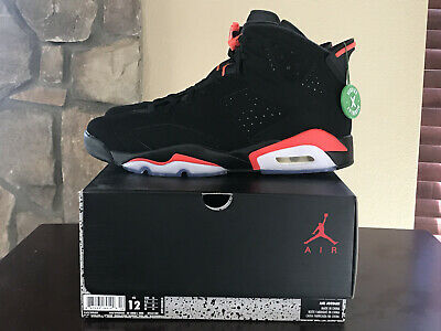 premium selection 81e64 d1998 2019 JORDAN RETRO 6 INFRARED Black Red sz 12 Nike NEW DS No Reserve from  StockX