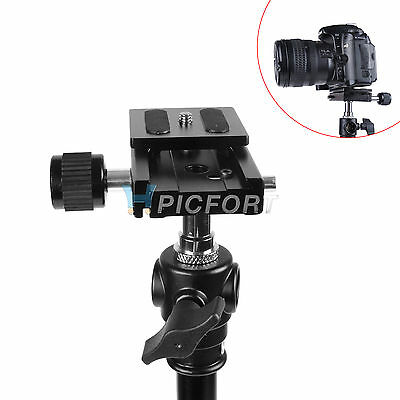 Brand Sale Camera QR Quick Release Plate And Clamp For Ball Head Monopod Tripod