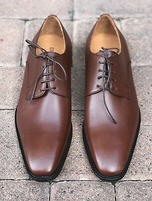 1392bf00339 NEW SZ 9.5 Men s Brown Leather Broletto Lace-up Dress Shoes NORDSTROM -  Italy