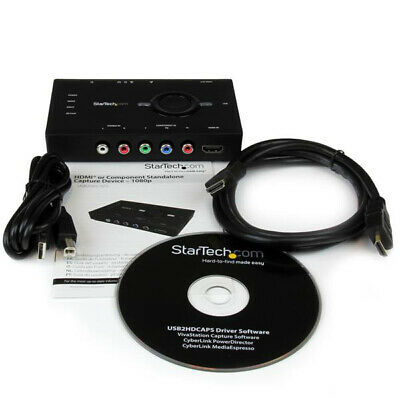 Startech.Com Standalone Video Capture And Streaming - Hdmi Or Component, 1080P -
