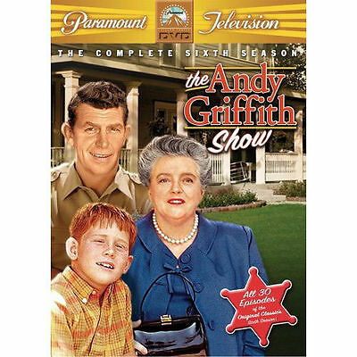 The Andy Griffith Show - The Complete Sixth Season (DVD, 2006, 5-Disc Set)