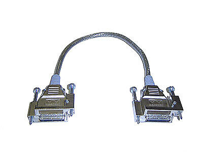 New  Cisco 3750X Stack Networking Cable 0.3 M Black CAB-SPWR-30CM=