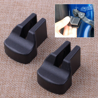 2Pcs Car Door Stopper Buckle Stop  Cap Rust protector cover For Ford Mustang 15+