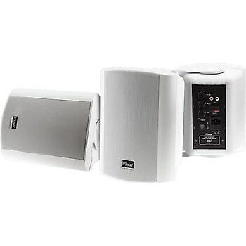 Wintal Demo - Class5aw, White, Pair, 2-Way, 40W Class D Amp, In & Outdoor Active